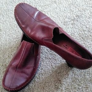 PIKOLINOS Slip On Pumps Leather Loafers  8 38 EUC